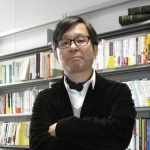野村一夫(渋谷の研究室にて)